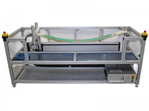 Test system for GFRP leaf springs