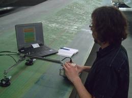 Handscanner FHS zur Prüfung von Material